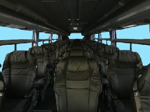 ミルキーウェイ3列独立シート乗務員席無